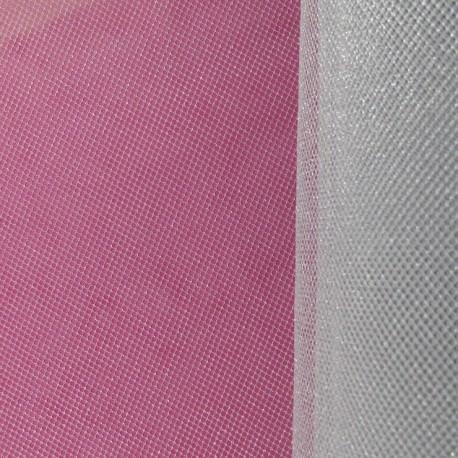 Tulle Haute qualité petite résille argenté x 10cm