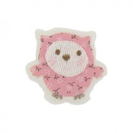 Thermocollant Bébé hibou rose