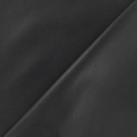 Simili cuir souple gris x 10cm