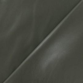 Simili cuir souple kaki x 10cm