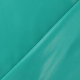 Simili cuir souple turquoise vert x 10cm