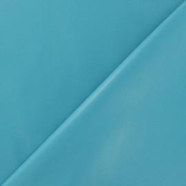 Simili cuir souple bleu ciel x 10cm