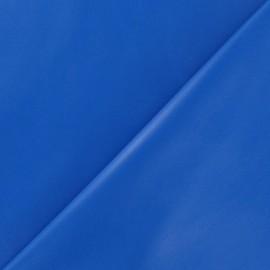 Simili cuir souple bleu x 10cm