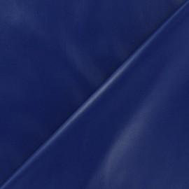 Flexible imitation leather - royal blue x 10cm