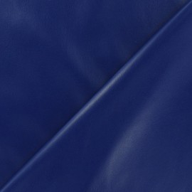 Simili cuir souple bleu roy x 10cm