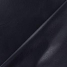 ♥ Coupon 140 cm X 140 cm ♥ Flexible imitation leather - blue night