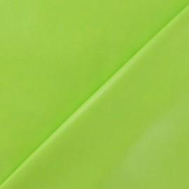 Flexible imitation leather - lime green x 10cm