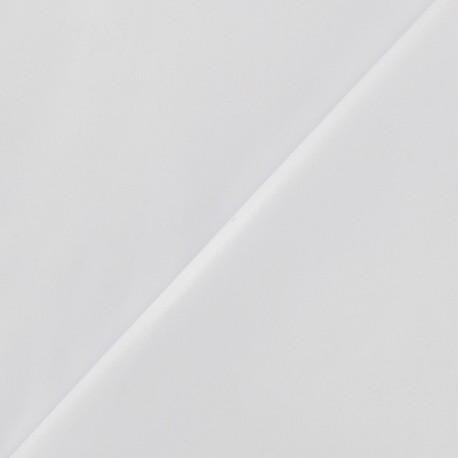 Flexible imitation leather - white x 10cm