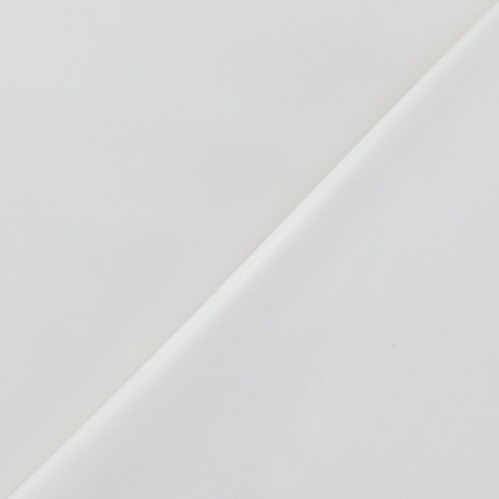 Flexible imitation leather - ecru x 10cm