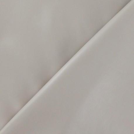 Simili cuir souple beige x 10cm