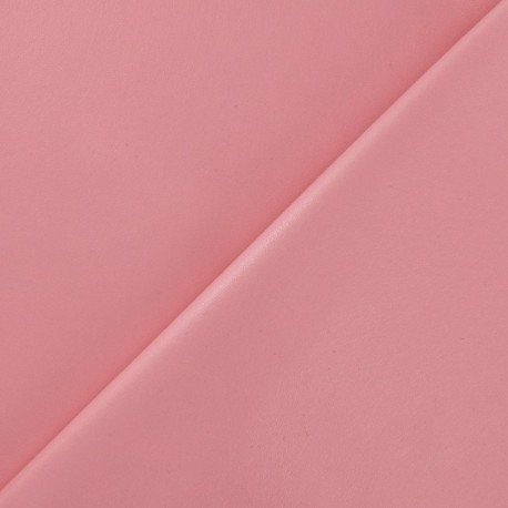 Simili cuir souple rose x 10cm