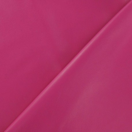 Flexible imitation leather - fuchsia x 10cm