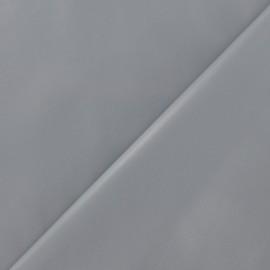 Simili cuir souple gris perle x 10cm