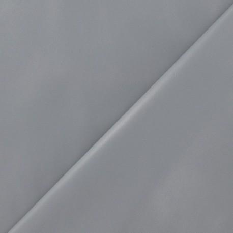 Flexible imitation leather - grey pearl x 10cm