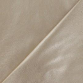 Simili cuir souple doré x 10cm