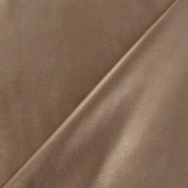 Simili cuir souple cuivré x 10cm