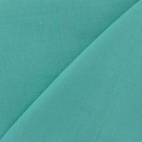 Linen Fabric - Opaline Green x 10cm