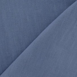 Linen Fabric - Barbel Blue x 10cm