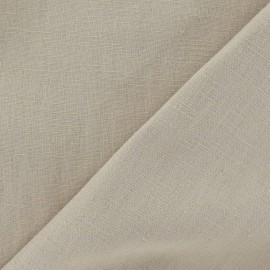 Linen Fabric - Light Sand x 10cm