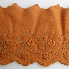 Broderie anglaise cuivre