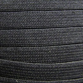 Élastique maille noir 10 mm