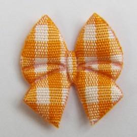 Noeud papillon orange