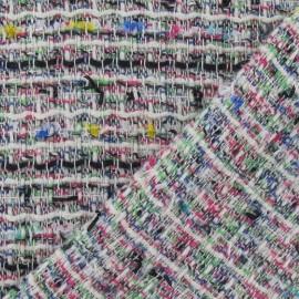 Tissu Tweed printemps recto/verso x 10cm