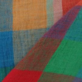 Tissu Lin Madras A x 10cm