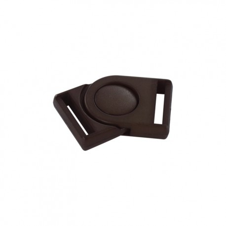Swivel buckle attachment for bumbag - brown