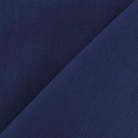 Linen Fabric - Indigo x 10cm