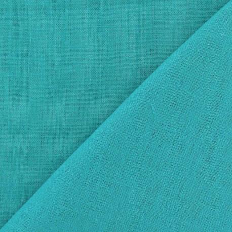 Linen Fabric - Mers du sud x 10cm