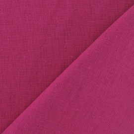 Linen Fabric - Pétunia x 10cm