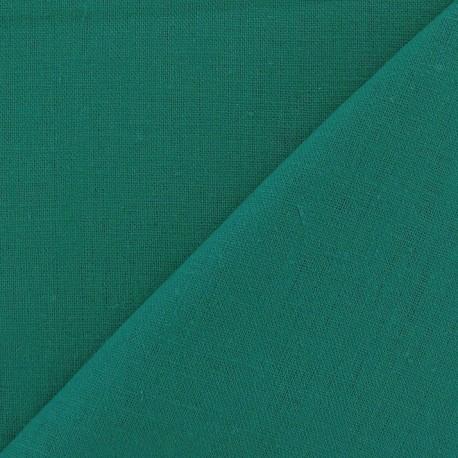 Tissu lin lagon x 10cm