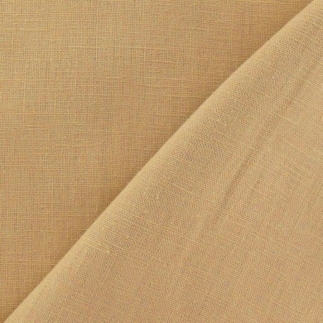 Linen Fabric - Light Beige x 10cm