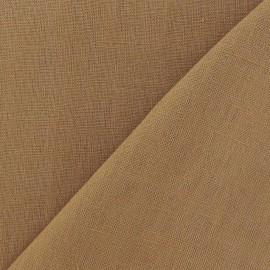Linen Fabric - Bronze x 10cm
