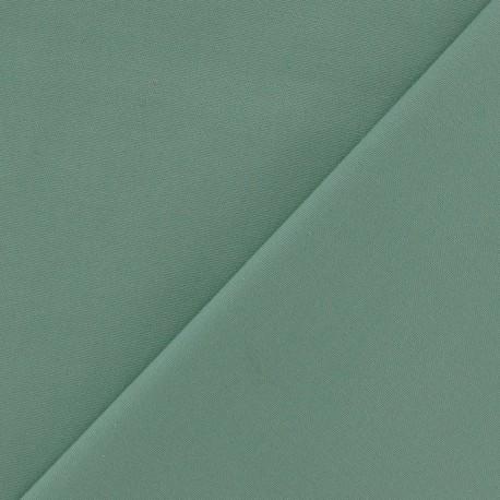 Mat Lycra Gabardine Fabric - Sage green x 10cm