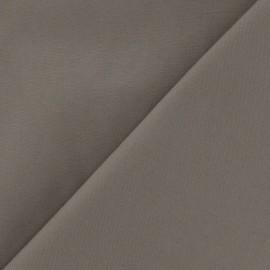 Tissu Gabardine Lycra havane x 10cm