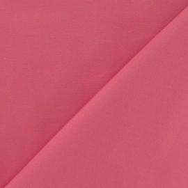 Tissu Gabardine Lycra rose x 10cm