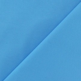 ♥ Coupon 100 cm X 140 cm ♥ Mat Lycra Gabardine Fabric - Sky blue