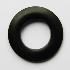 Eyelet to clip - black