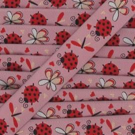 Jacquard Ribbon insects - pink