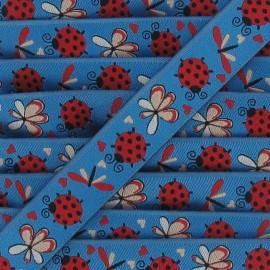 Jacquard Ribbon insects - blue