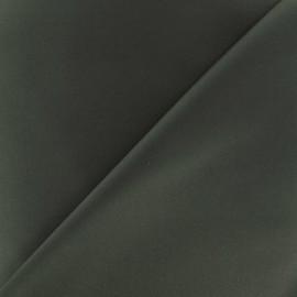 Tissu Gabardine Lycra satiné - vert militaire x 10cm