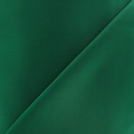 Tissu Gabardine Lycra vert bouteille x 10cm