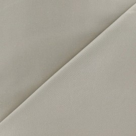 Satiny Lycra Gabardine Fabric - Raw x 10cm