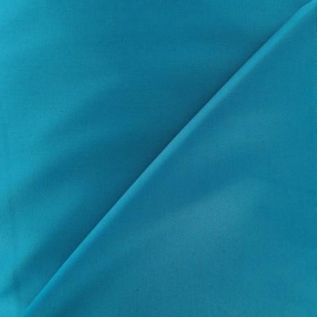 Satiny Lycra Gabardine Fabric - Leap Blue x 10cm