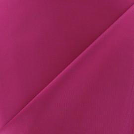 Tissu Gabardine Lycra satiné framboise x 10cm