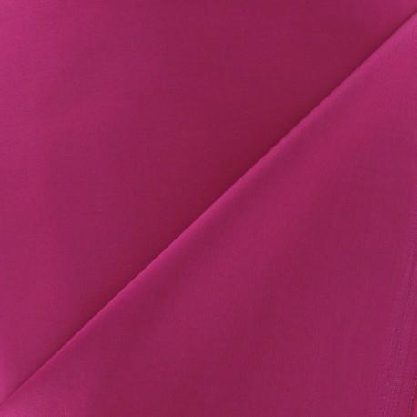 Tissu Gabardine Lycra framboise x 10cm