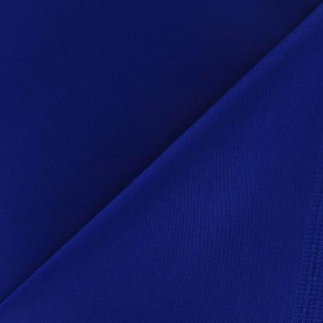 Tissu Gabardine Lycra bleu navy x 10cm