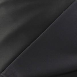 Tissu Gabardine Lycra satiné gris anthracite x 10cm